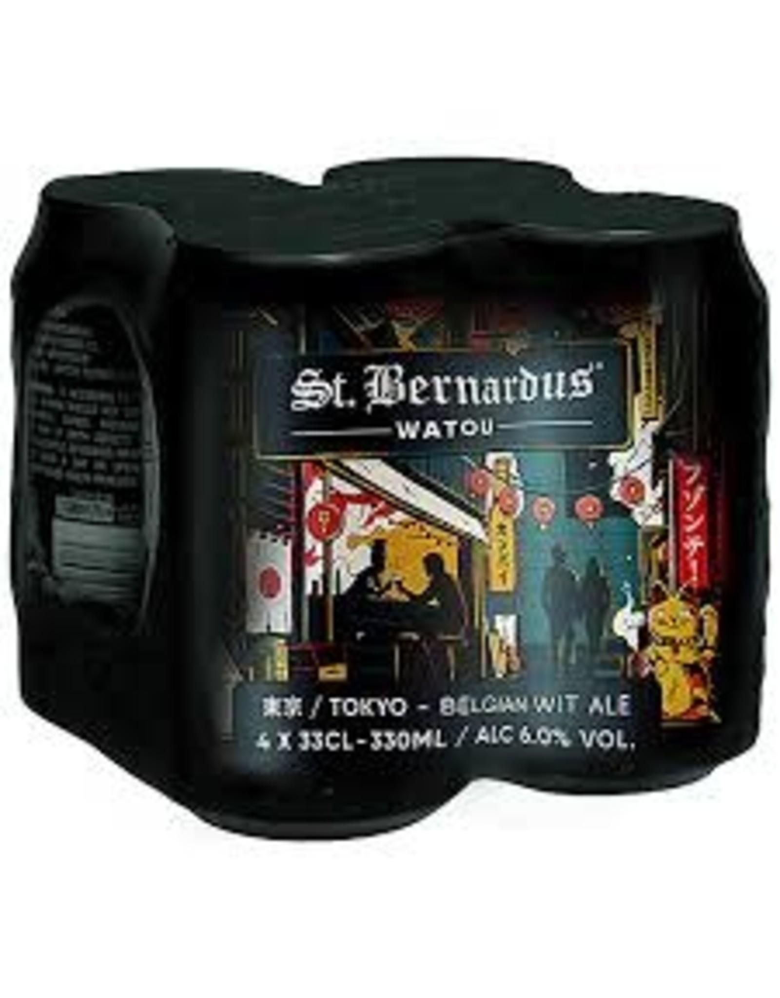 St. Bernadus St. Bernardus Tokyo Wit 4pk can