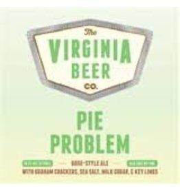 Virginia Beer Company VBC Pie Problem 4pk can