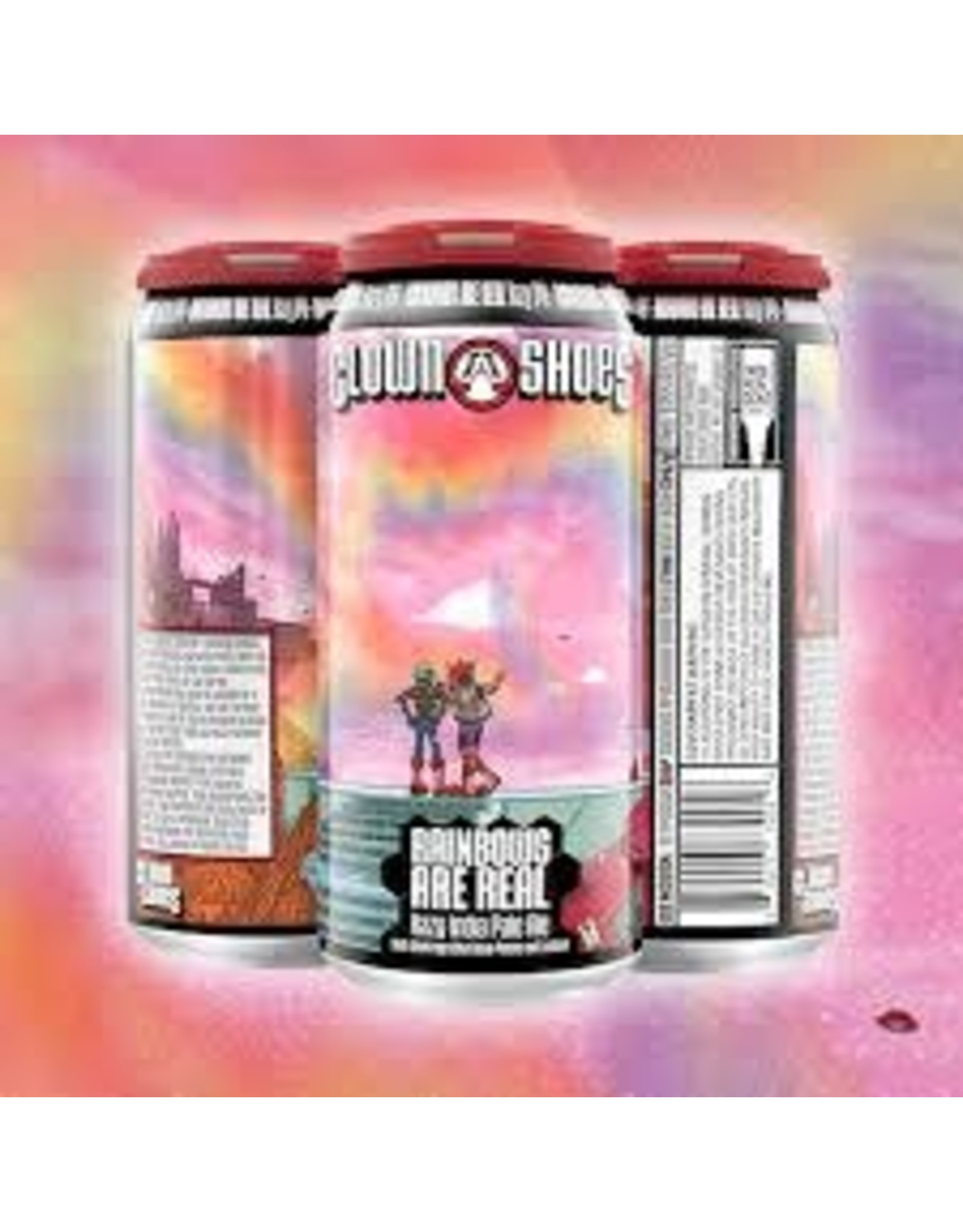 Clown Shoes Clown Shoes Rainbows Are Real 4pk can