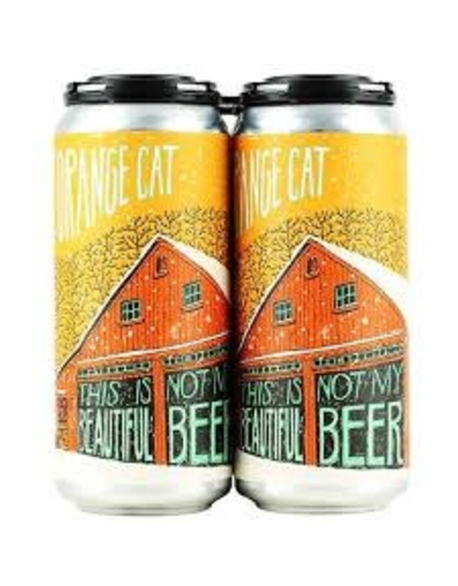 Fat Orange Cat Fat Orange Cat Not My Beautiful Beer 4pk can