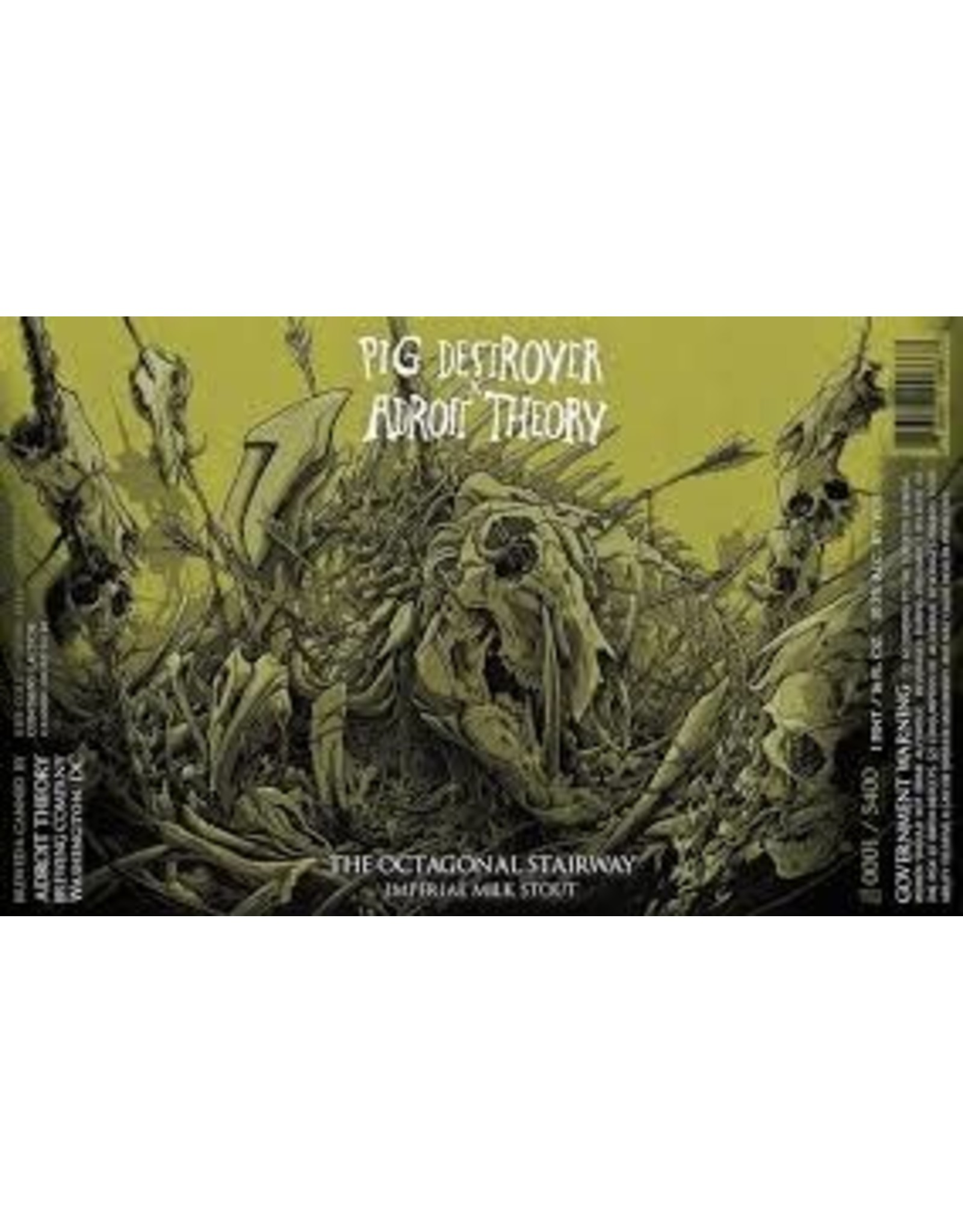 Adroit Theory Adroit Theory Octogonal Stairway 4pk can