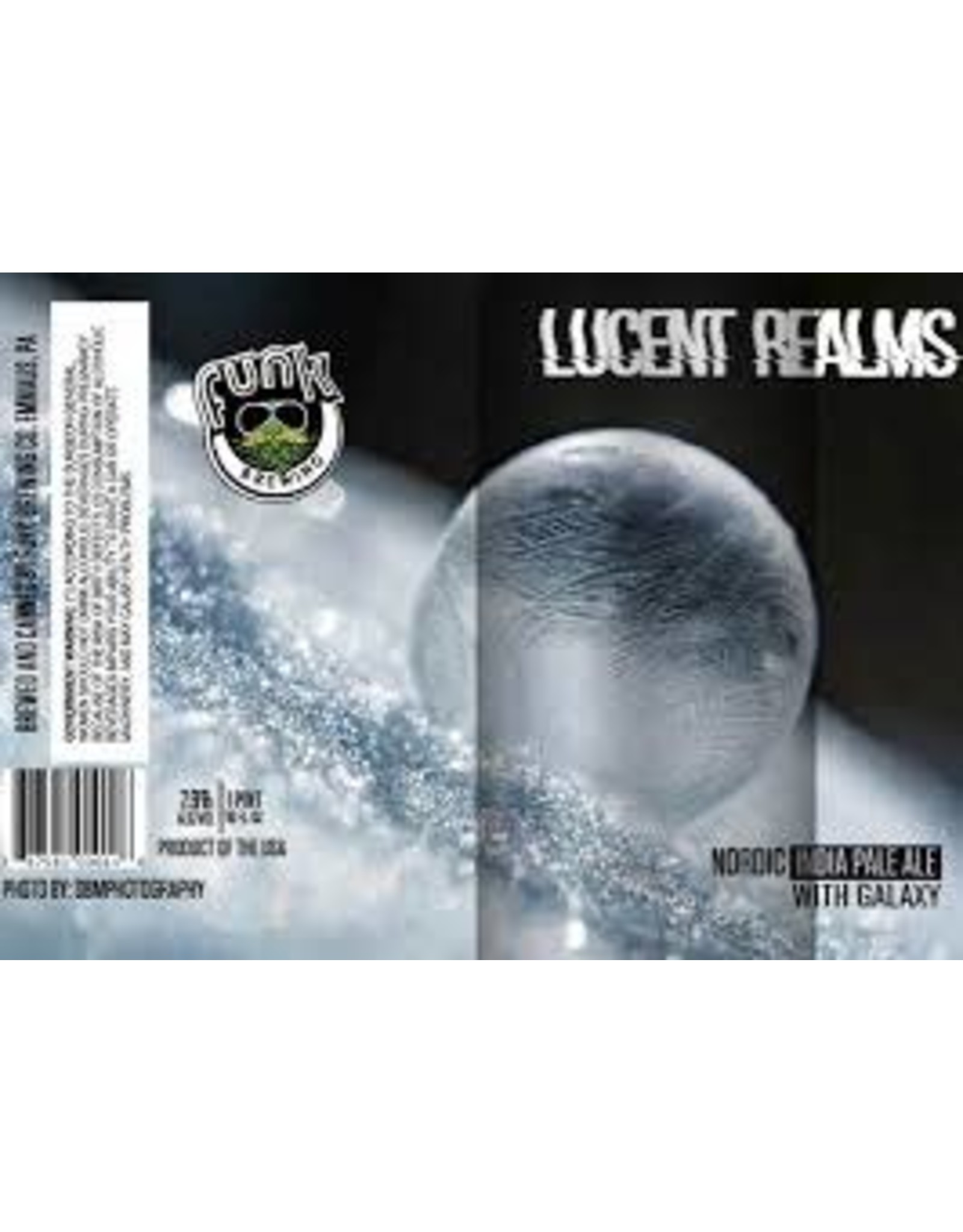 Funk Brewing Funk Lucent Realms 4pk can