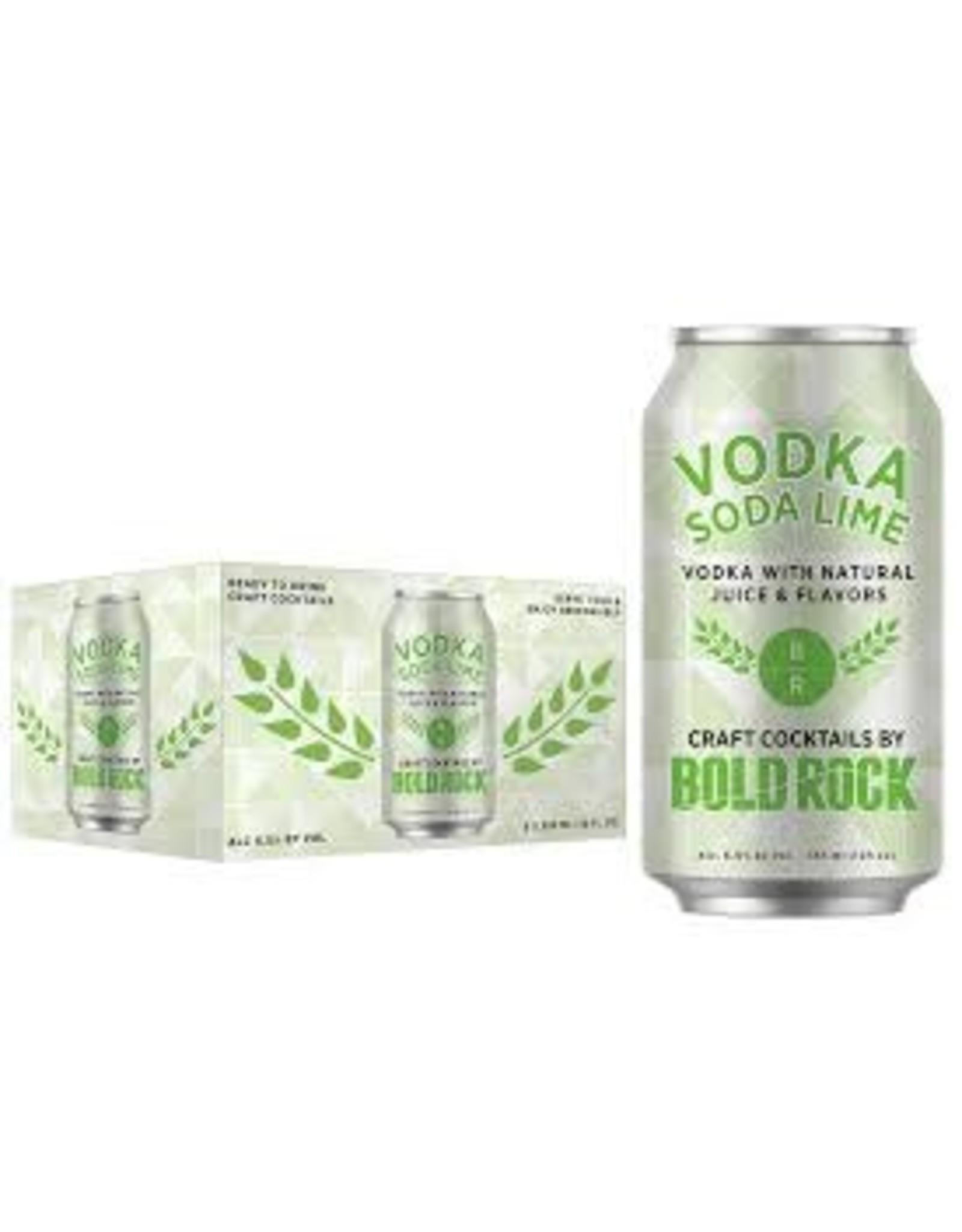 Bold Rock Bold Rock Vodka Soda Lime 6pk can