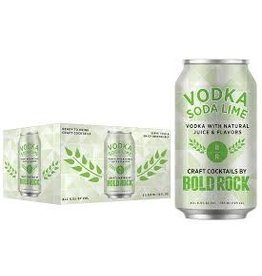 Bold Rock Bold Rock Vodka Soda Lime 6pk can