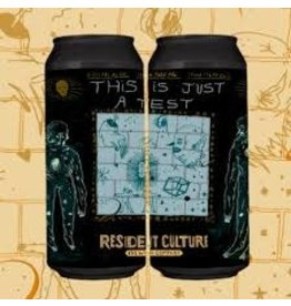 Resident Culture Resident Culture This is Just a Test 4pk can