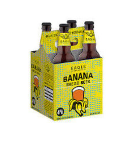 Eagle Brewery Wells Banana Bread 4pk bottle