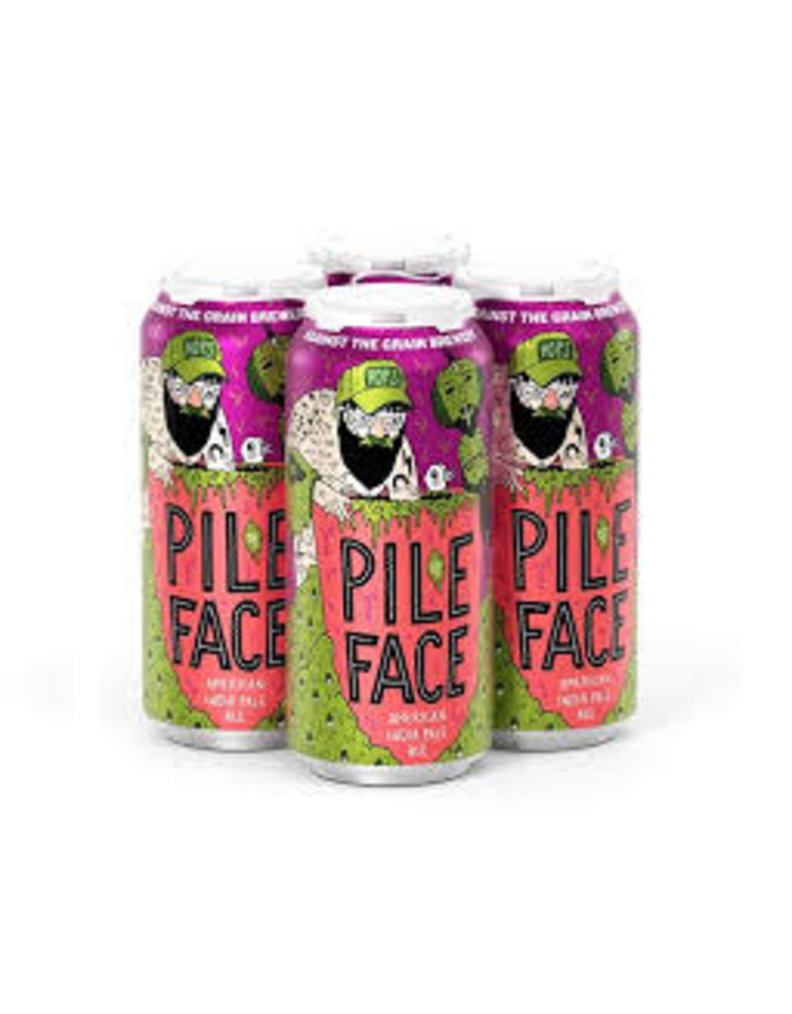 Against the Grain Brewery Against the Grain Pile of Face 4pk can