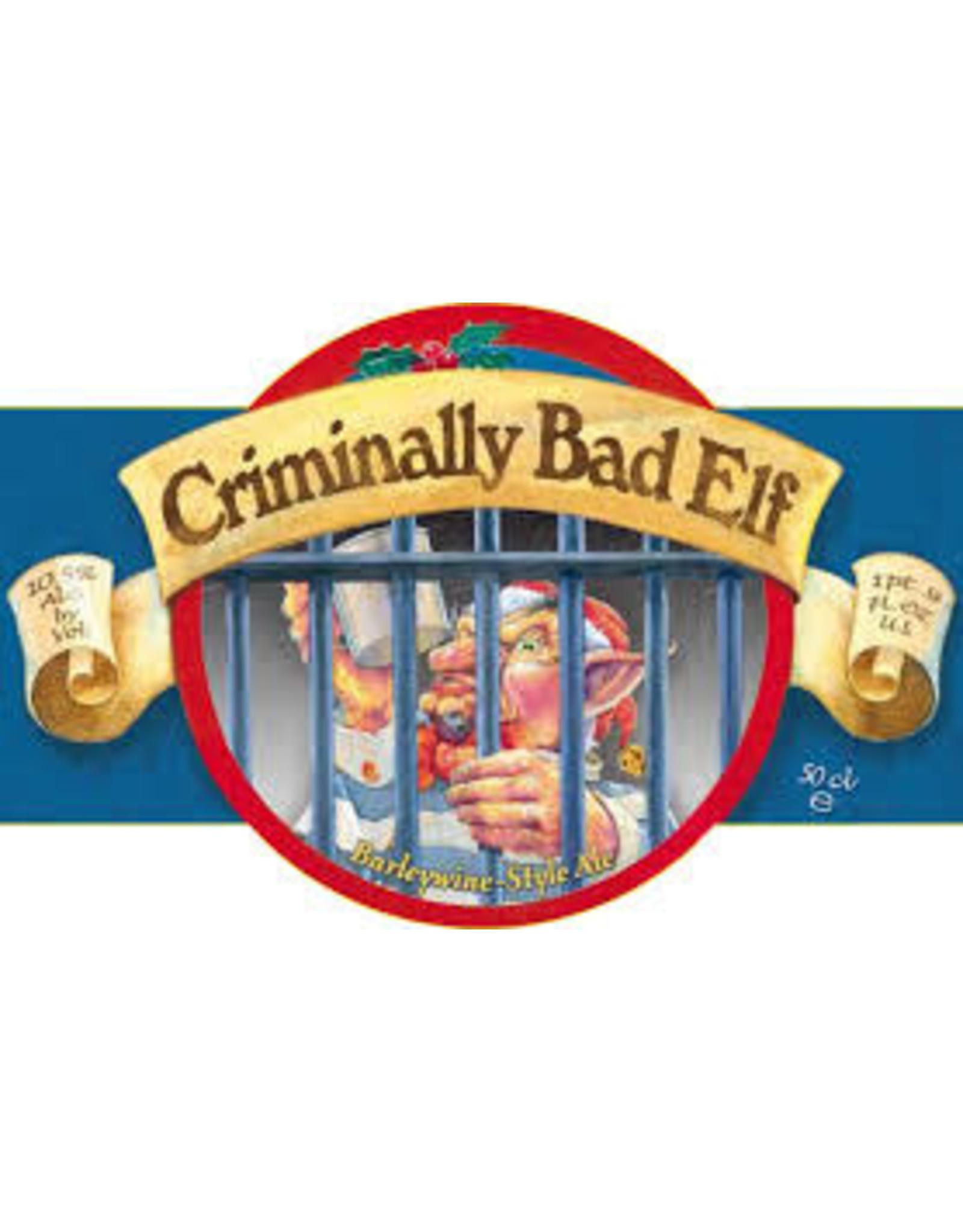 Ridgeway Brewing Ridgeway Criminally Bad Elf single