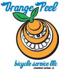 Orange Peel Bicycle Service logo