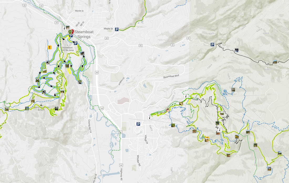 Steamboat Springs Trail System