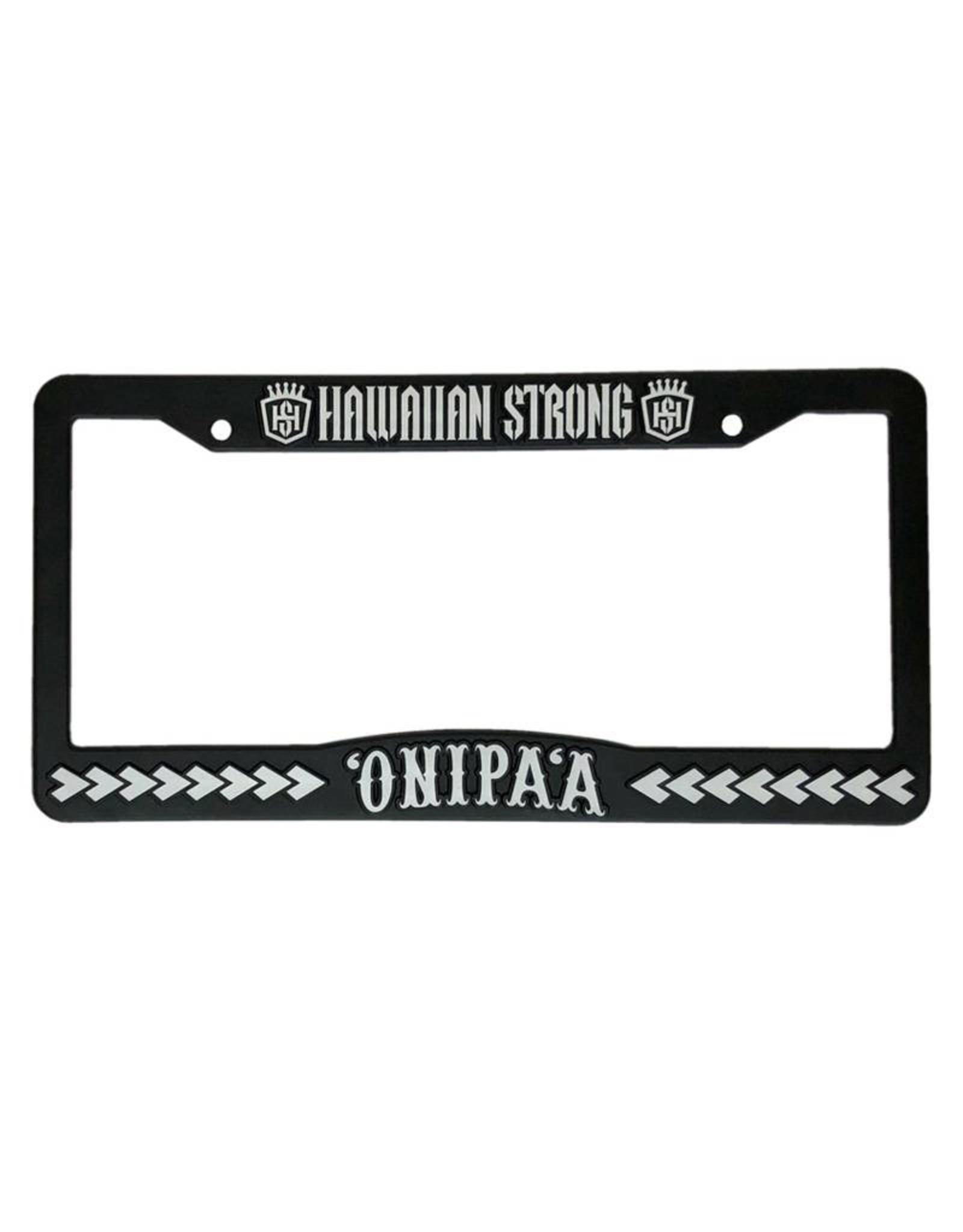 Hawaiian Strong 'ONIPA'A car plate