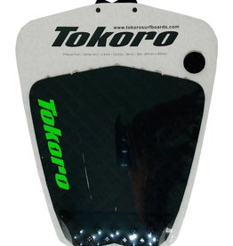 Tokoro Surfboards TRACTION PAD black/ mean green
