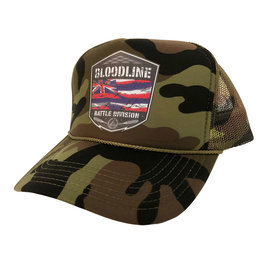 Bloodline BATTLE FLAG trucker