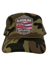 Bloodline BATTLE FLAG trucker