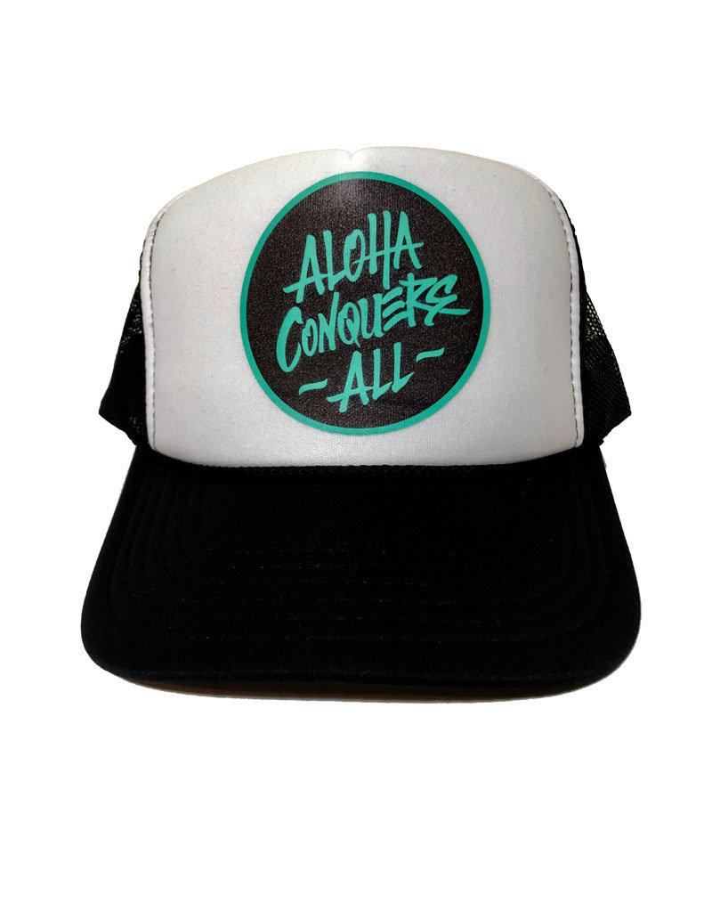 Aloha Conquers All ACA trucker