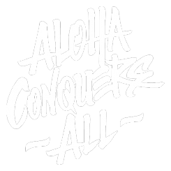 The coolest t-shirt designs from Hawaii are at Alohaconquersall.com