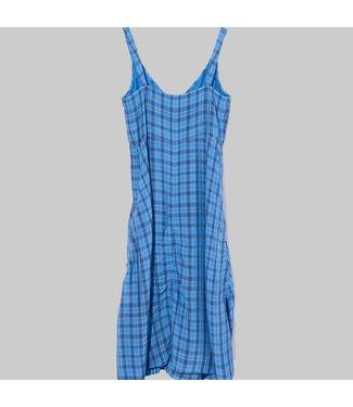 ACNE STUDIOS DARCIE LIQUID CHECK DRESS