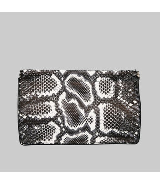 JEROME DREYFUSS CLAC CLIC L CLUTCH