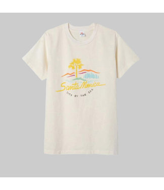 RE/DONE 70S LOOSE TEE 'CITY BY THE SEA'
