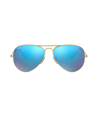 RAY-BAN AVIATOR GOLD/BRT-BLUE 58