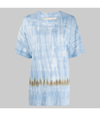 RAQUEL ALLEGRA CUTOFF T-SHIRT DRESS
