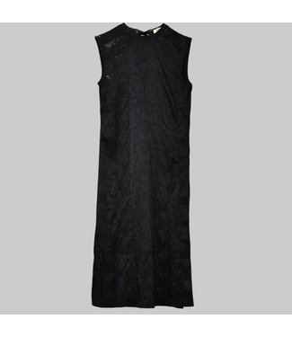 ACNE STUDIOS DARIENNE SHINY EMBOSS DRESS