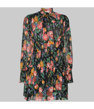 ZIMMERMANN ALLIA SHIRRED SHORT DRESS