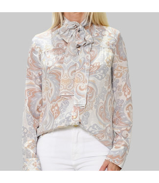 SEE BY CHLOE GIANT PAISLEY TOP
