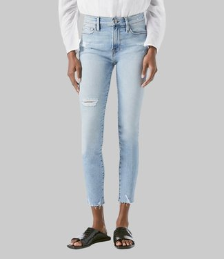 FRAME DENIM LE SKINNY DJ CROP E RAW EDGE