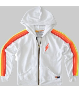 AVIATOR NATION BOLT EMBROIDERY CLASSIC 4 - ZIP HOODIE