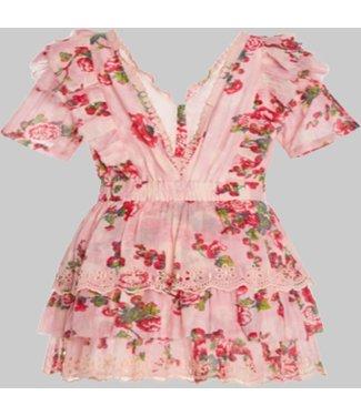 LOVE SHACK FANCY ALDINA DRESS