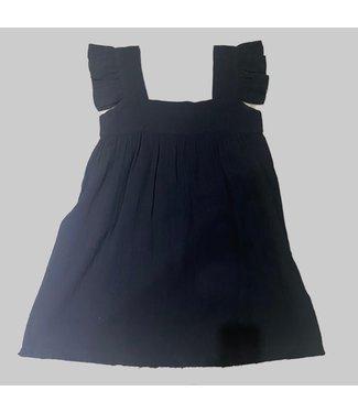 ANAAK CASSI RUFFLE BABYDOLL DRESS