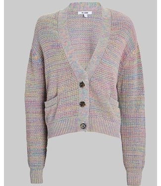 RE/DONE 90S OVERSIZED CROP CARDIGAN
