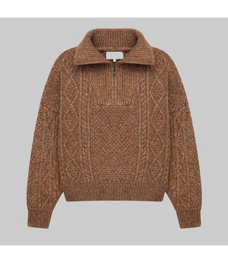 THE GREAT THE CABLE HENLEY PULLOVER