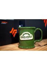 2020 Ride-A-Bike Coffee Mug; 14oz; Green;