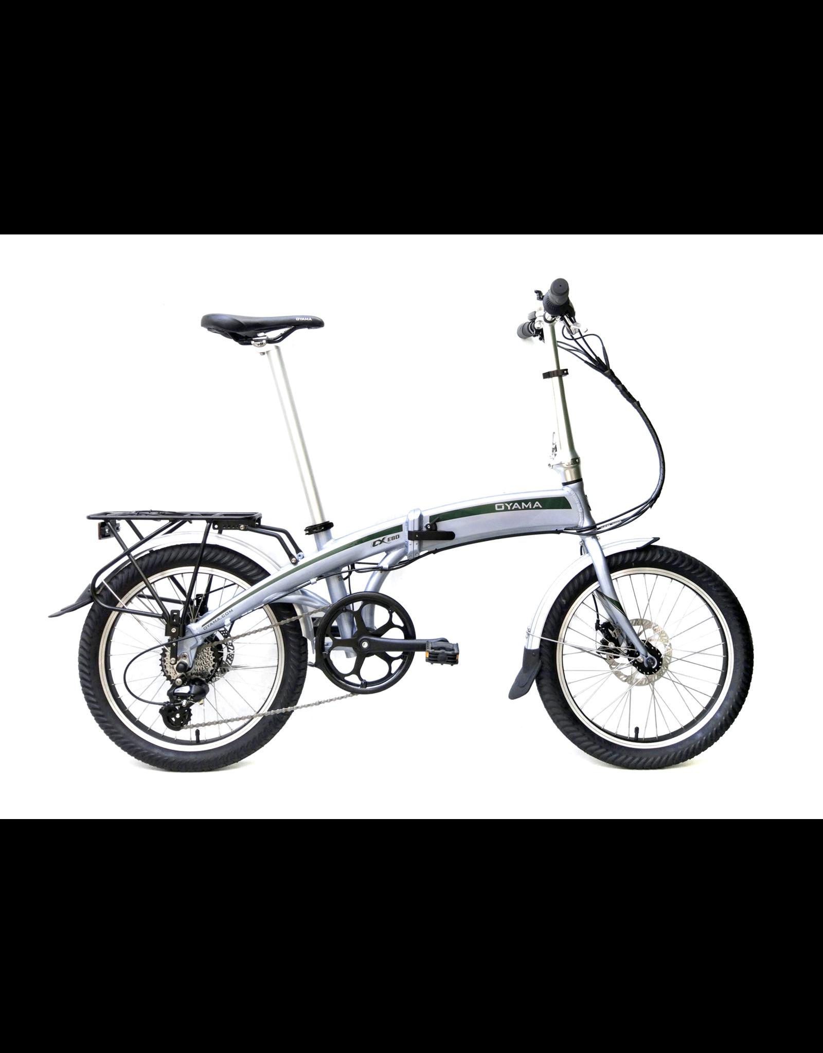 "Oyama Oyama CX E8D 20"" Electric Folding Bicycle"