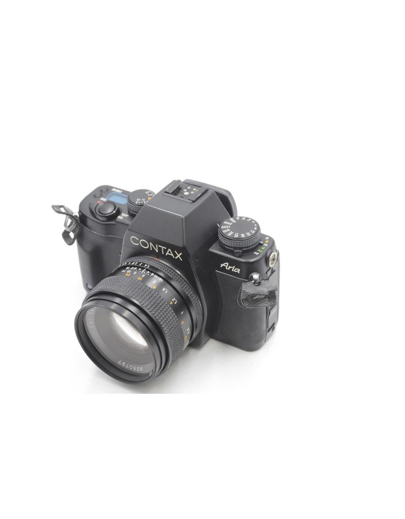 Pre-Owned Contax Aria With 50mm F/1.4 T*