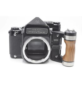 Pre-Owned Pentax 67 Body With TTL Penta Prism Finder and Hand Grip