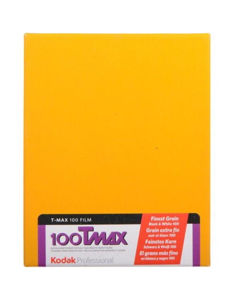 Kodak Kodak Tmax 100 4X5 Sheet 10 Box