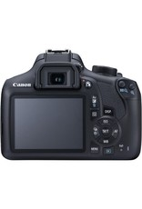 Canon EOS Rebel T6 EF-S 18–55mm + EF 75–300mm Double Zoom Kit
