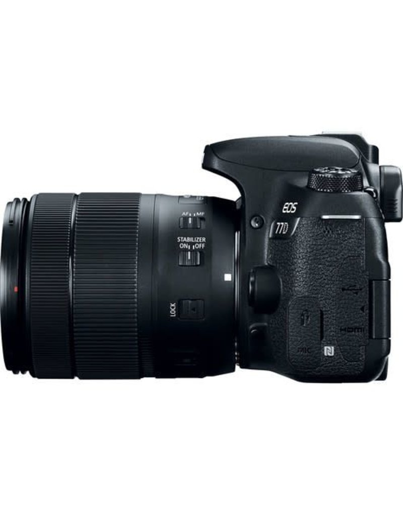 Canon Canon EOS 77D EF-S 18–135mm IS USM Kit
