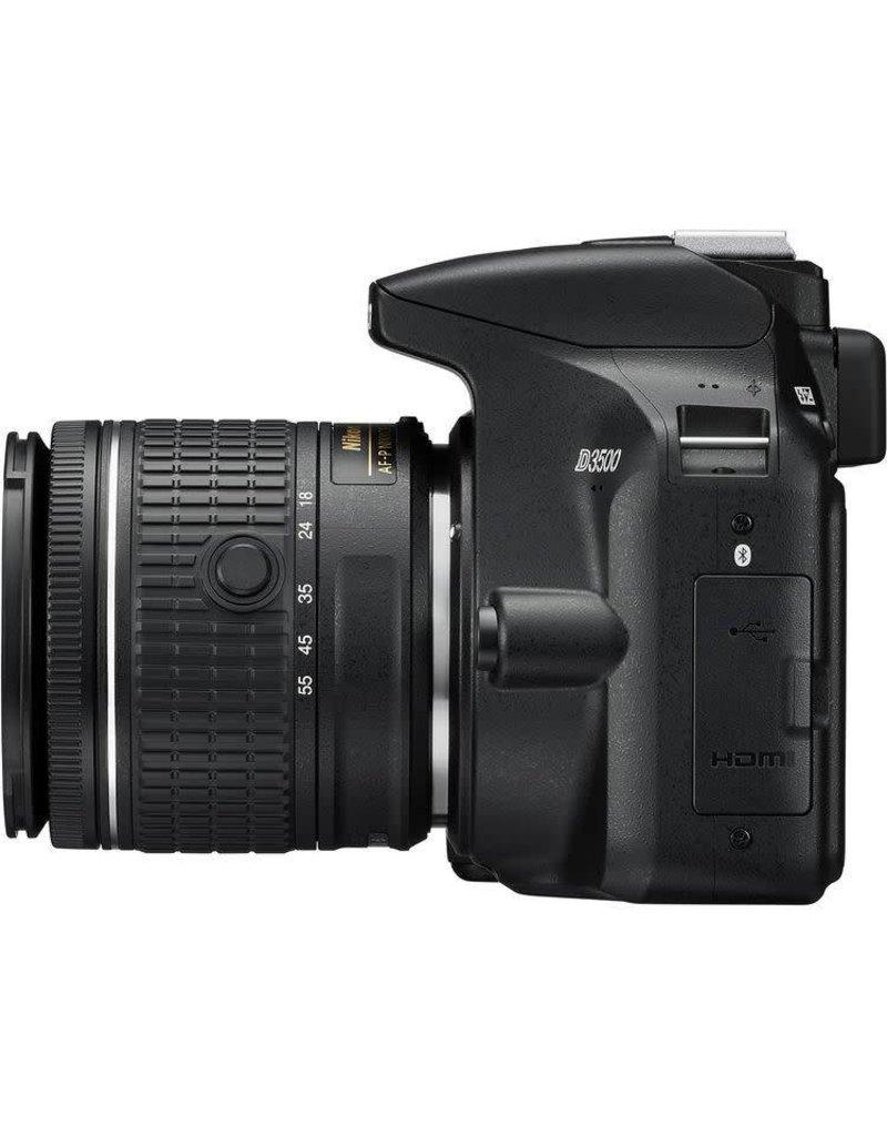 Nikon Nikon D3500 18-55m 70-300m Blk