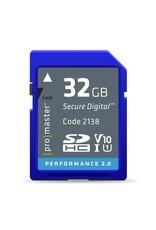 Promaster Promaster SDHC 32GB Performance 2.0