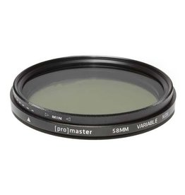 Promaster Promaster 58mm Variable ND - Digital HGX