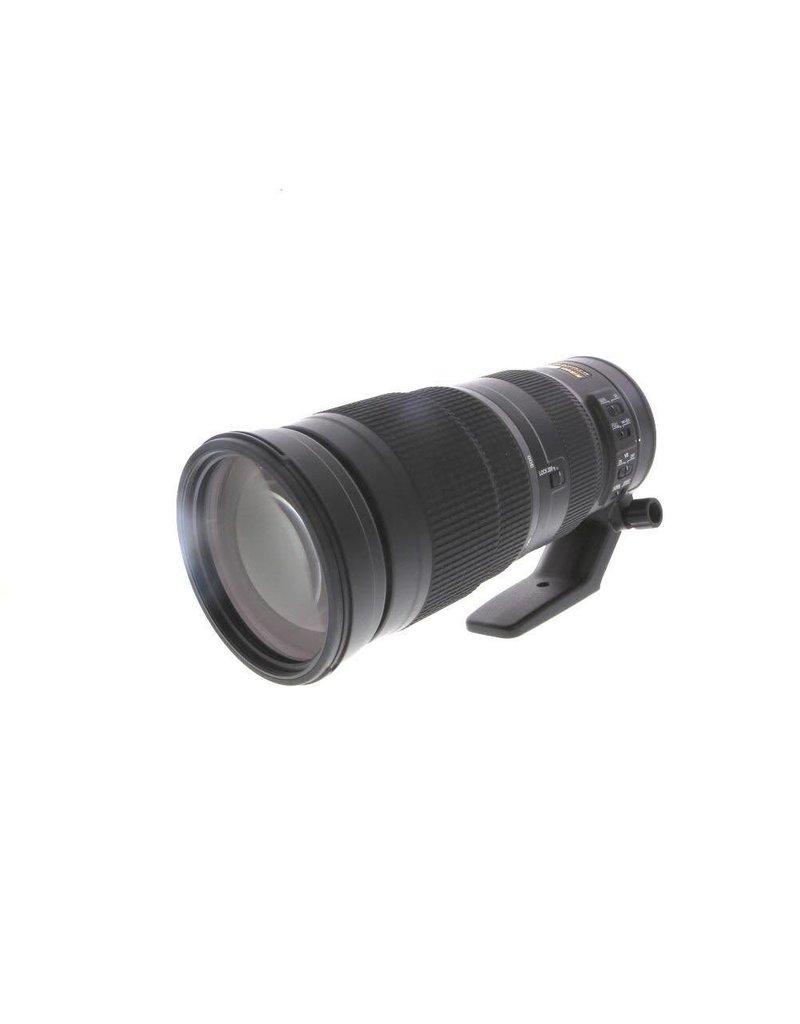 Nikon AF-S NIKKOR 200-500mm f/5.6E E