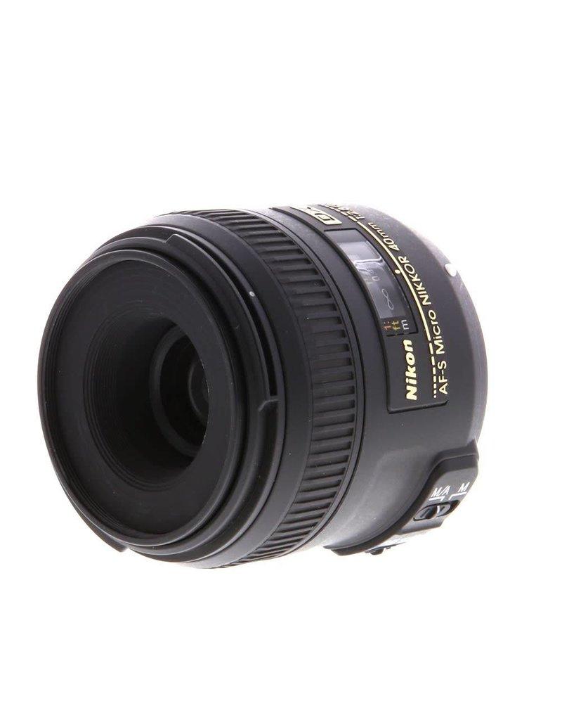 Nikon Nikon AF-S 40mm Micro f2.8G