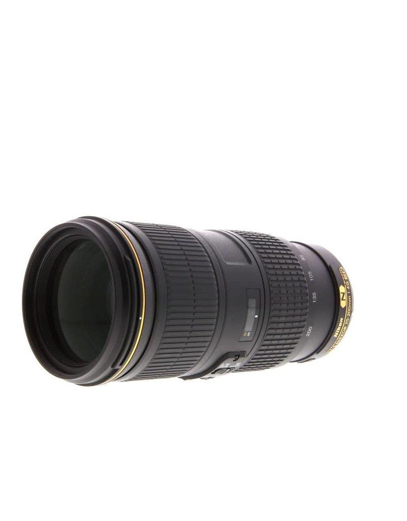 Nikon Nikon AF-S Nikkor 70-200mm F/4