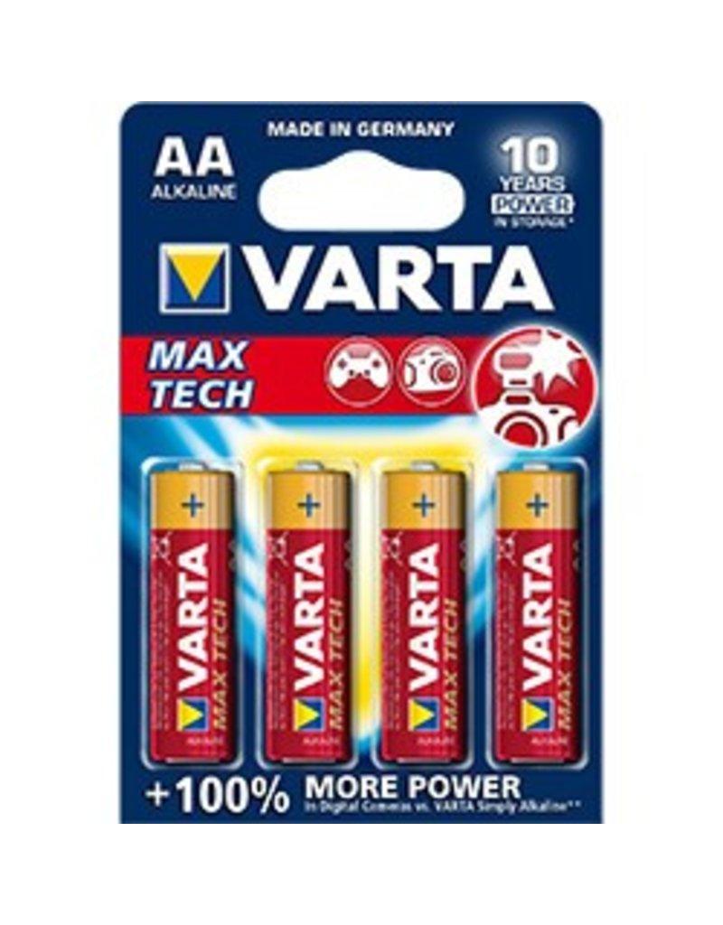 Varta MAX TECH AA 4pk