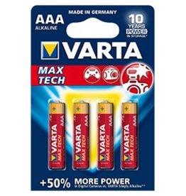 Varta MAX TECH AAA 4pk