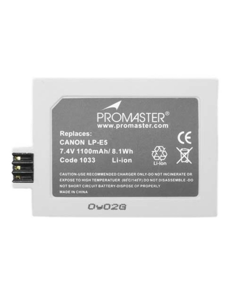 Promaster Promaster LP-E5 For Canon